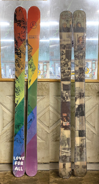 173cm Skis  Love for All
