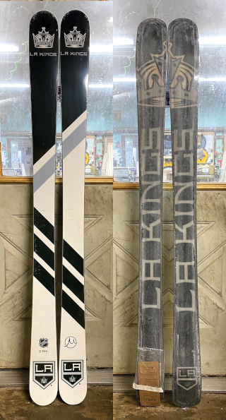 173cm Skis  Los Angeles Kings