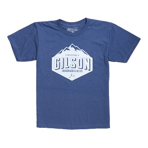 Gilson Mountain  Blue Tee
