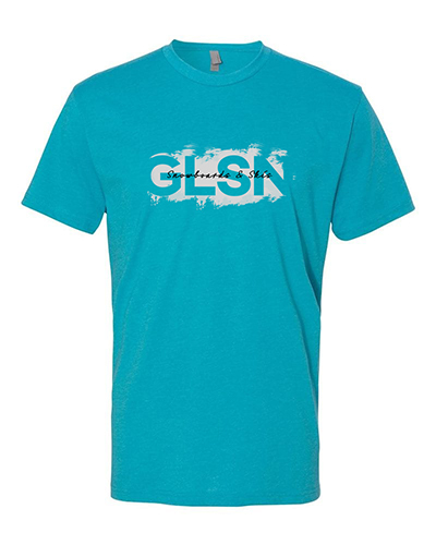 Glsn bondi blue tee small