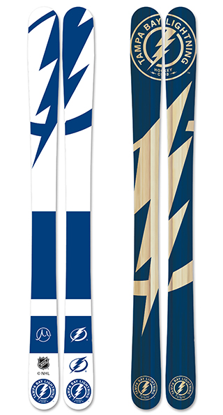 Tampa Bay Lightning Skis